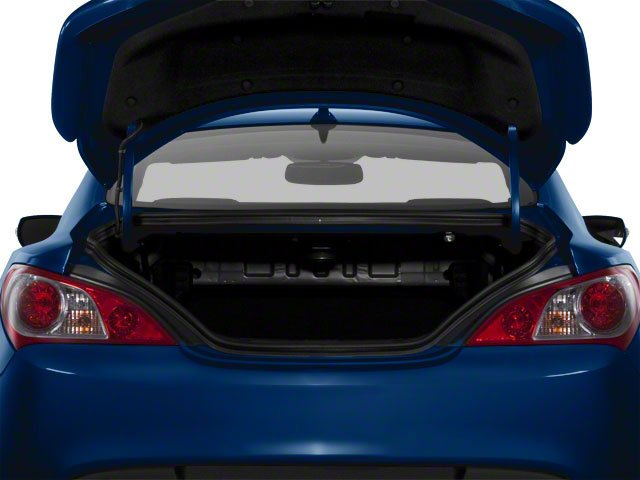 2012 Hyundai Genesis Coupe Prices and Values Coupe 2D R-Spec open trunk