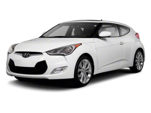 2012 Hyundai Veloster Prices and Values Coupe 3D side front view