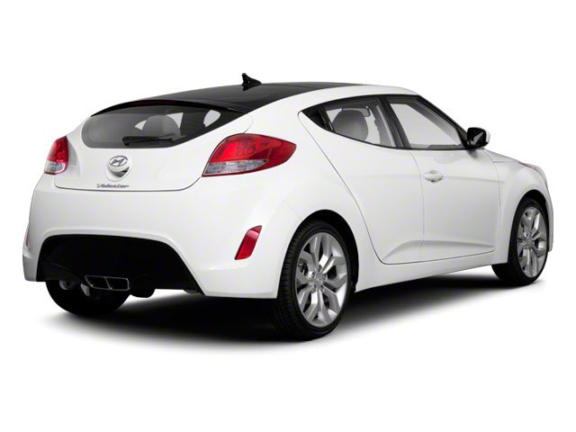 2012 Hyundai Veloster Prices and Values Coupe 3D side rear view