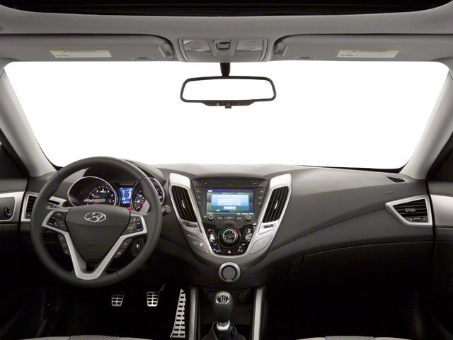 2012 Hyundai Veloster Prices and Values Coupe 3D full dashboard