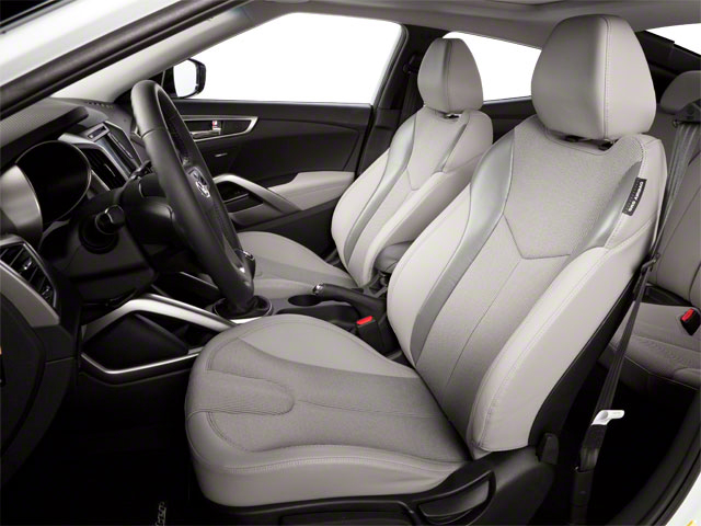 2012 Hyundai Veloster Prices and Values Coupe 3D front seat interior