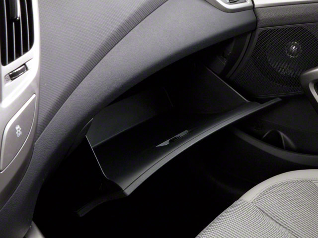 2012 Hyundai Veloster Prices and Values Coupe 3D glove box