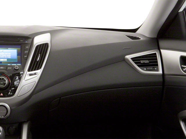 2012 Hyundai Veloster Prices and Values Coupe 3D passenger's dashboard