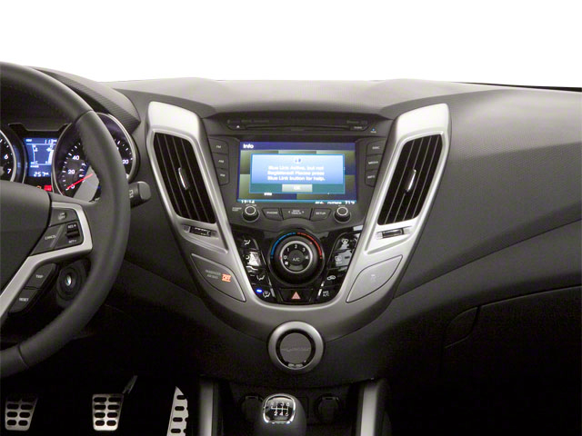 2012 Hyundai Veloster Prices and Values Coupe 3D center dashboard