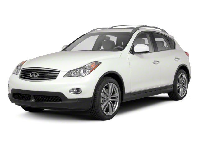 2012 INFINITI EX35 Pictures EX35 Wagon 4D Journey AWD photos side front view