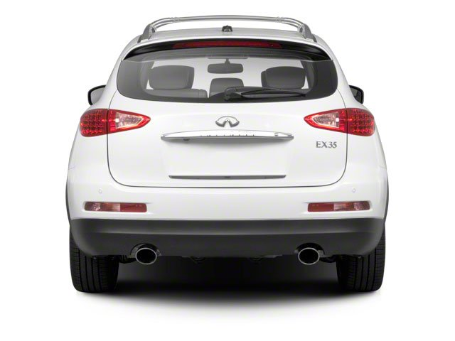 2012 INFINITI EX35 Prices and Values Wagon 4D AWD rear view