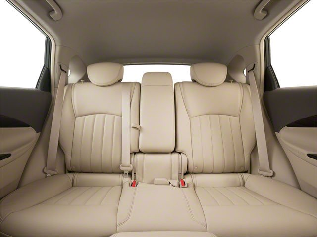 2012 INFINITI EX35 Prices and Values Wagon 4D AWD backseat interior