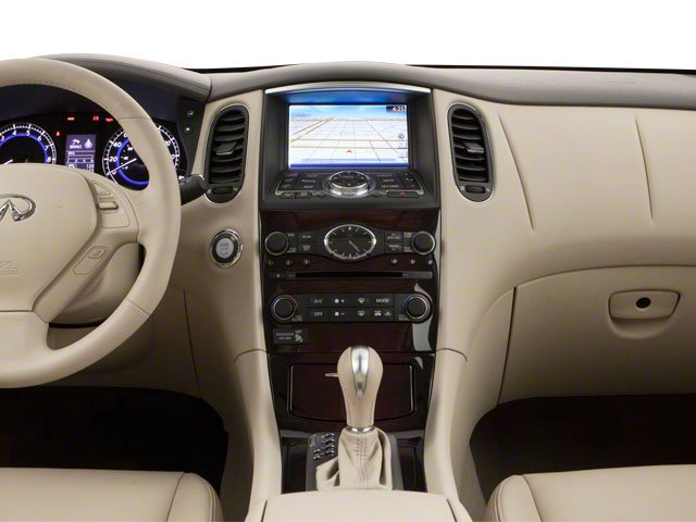 2012 INFINITI EX35 Prices and Values Wagon 4D AWD center dashboard