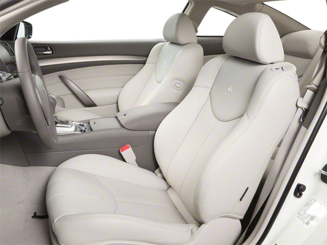 2012 INFINITI G37 Coupe Prices and Values Coupe 2D IPL front seat interior