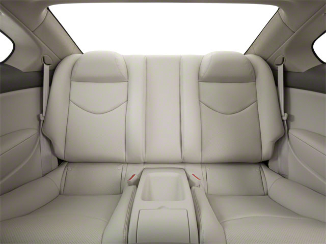 2012 INFINITI G37 Coupe Prices and Values Coupe 2D IPL backseat interior