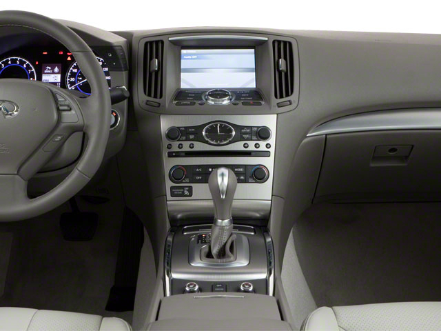 2012 INFINITI G37 Coupe Prices and Values Coupe 2D IPL center dashboard