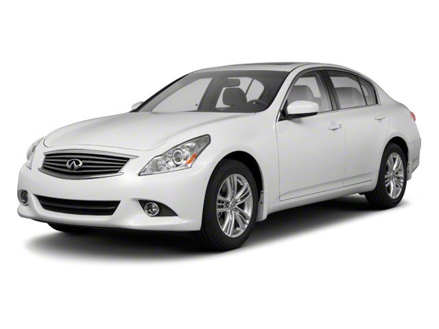 2012 INFINITI G25 Sedan Prices and Values Sedan 4D side front view