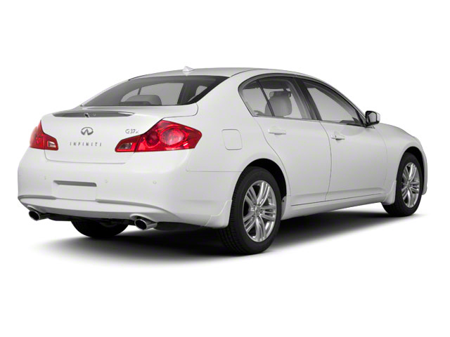 2012 INFINITI G25 Sedan Prices and Values Sedan 4D side rear view