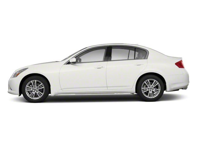 2012 INFINITI G25 Sedan Prices and Values Sedan 4D side view