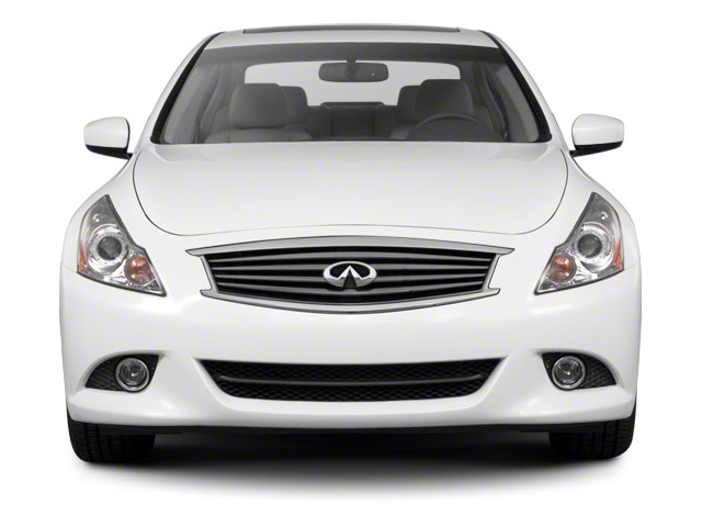 2012 INFINITI G25 Sedan Prices and Values Sedan 4D front view