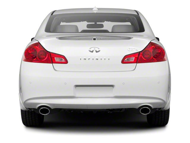 2012 INFINITI G25 Sedan Prices and Values Sedan 4D rear view