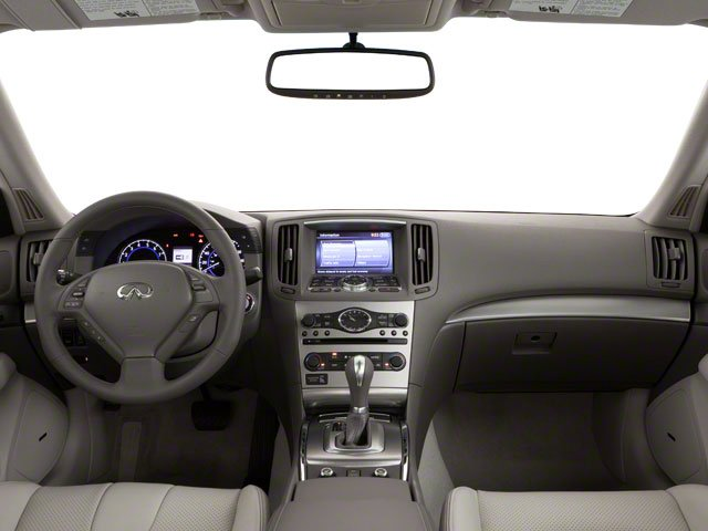 2012 INFINITI G25 Sedan Prices and Values Sedan 4D full dashboard