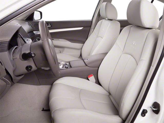 2012 INFINITI G25 Sedan Prices and Values Sedan 4D front seat interior