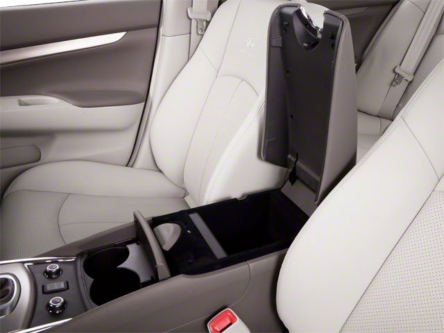 2012 INFINITI G25 Sedan Prices and Values Sedan 4D center storage console