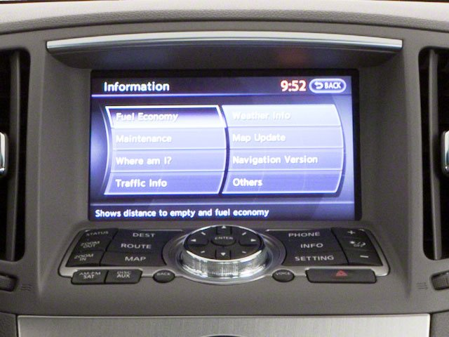 2012 INFINITI G25 Sedan Prices and Values Sedan 4D navigation system