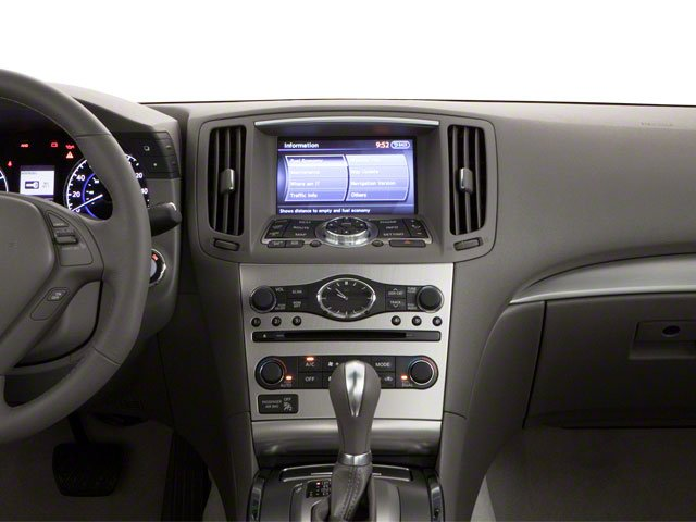 2012 INFINITI G25 Sedan Prices and Values Sedan 4D center dashboard