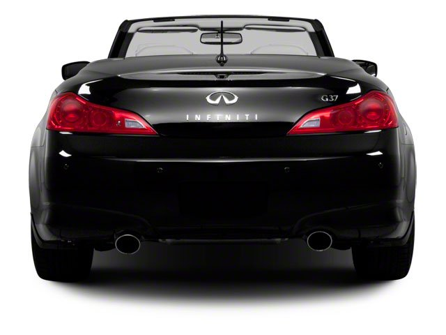 2012 INFINITI G37 Convertible Prices and Values Convertible 2D rear view