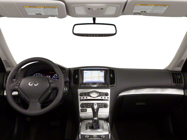 2012 INFINITI G37 Convertible Prices and Values Convertible 2D full dashboard