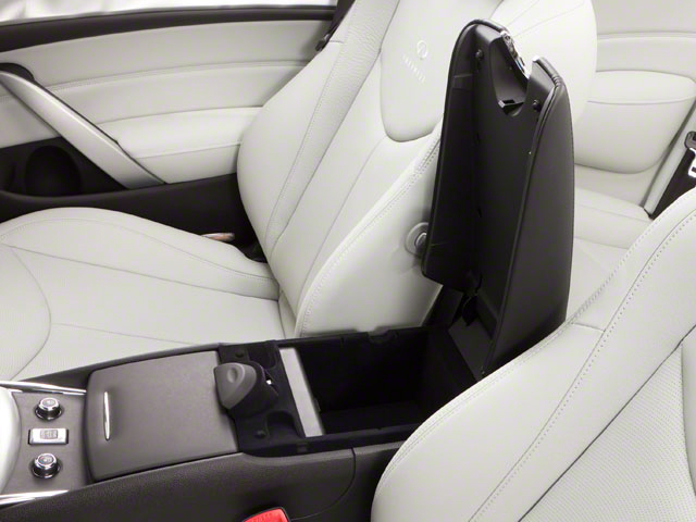 2012 INFINITI G37 Convertible Prices and Values Convertible 2D 6 Spd center storage console