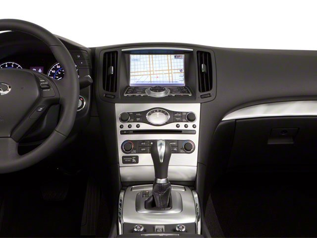 2012 INFINITI G37 Convertible Prices and Values Convertible 2D 6 Spd center dashboard