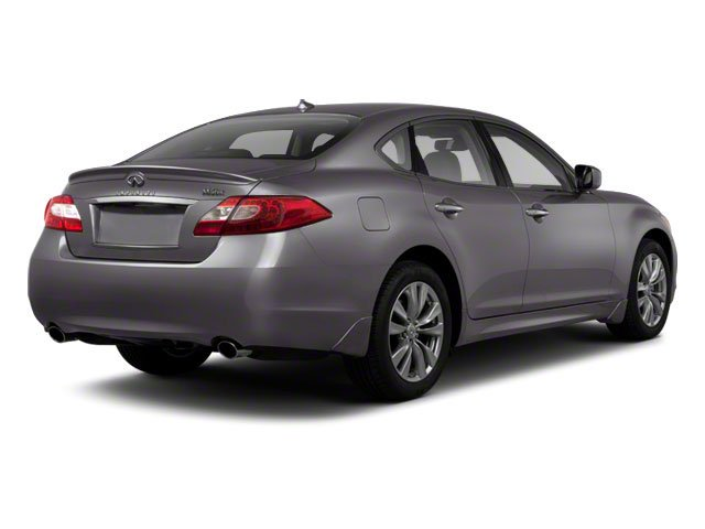 2012 INFINITI M56 Pictures M56 Sedan 4D photos side rear view