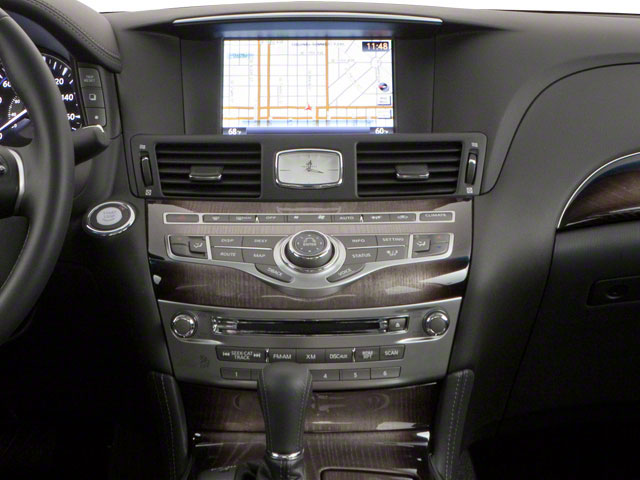 2012 INFINITI M56 Prices and Values Sedan 4D x AWD center console