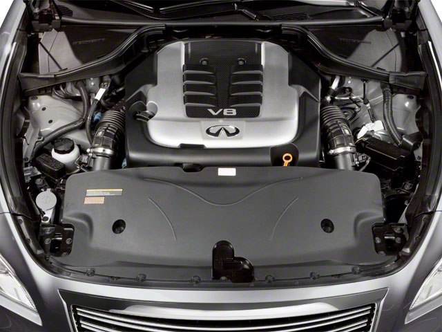 2012 INFINITI M56 Pictures M56 Sedan 4D photos engine