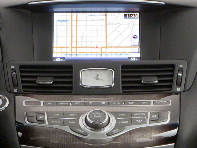 2012 INFINITI M56 Pictures M56 Sedan 4D photos navigation system