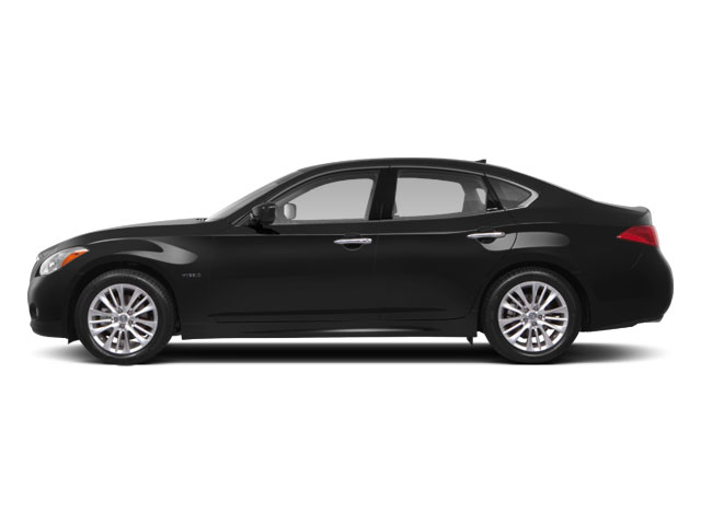 2012 INFINITI M35h Prices and Values Sedan 4D side view