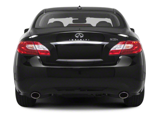 2012 INFINITI M35h Prices and Values Sedan 4D rear view