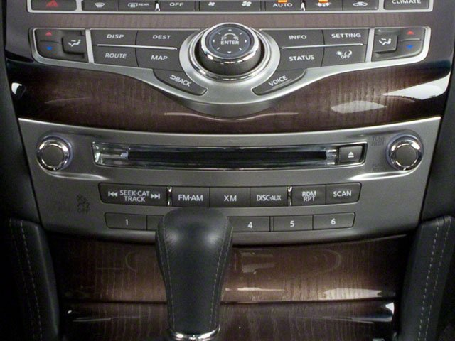 2012 INFINITI M35h Pictures M35h Sedan 4D photos stereo system