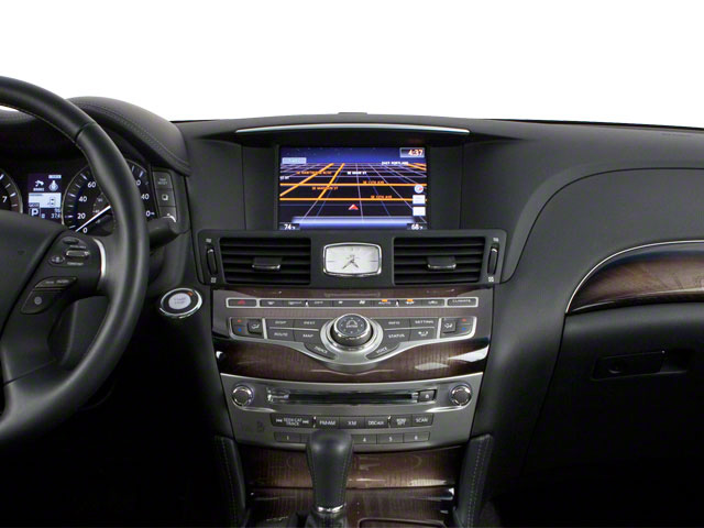 2012 INFINITI M35h Prices and Values Sedan 4D center dashboard