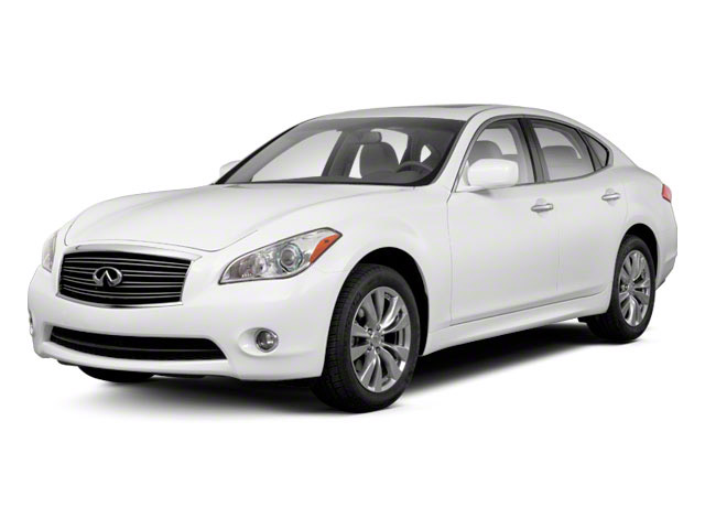 2012 INFINITI M37 Prices and Values Sedan 4D side front view