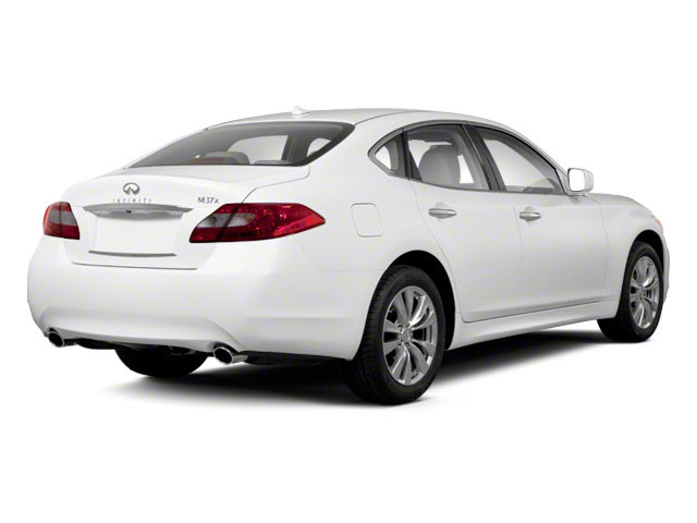 2012 INFINITI M37 Prices and Values Sedan 4D side rear view