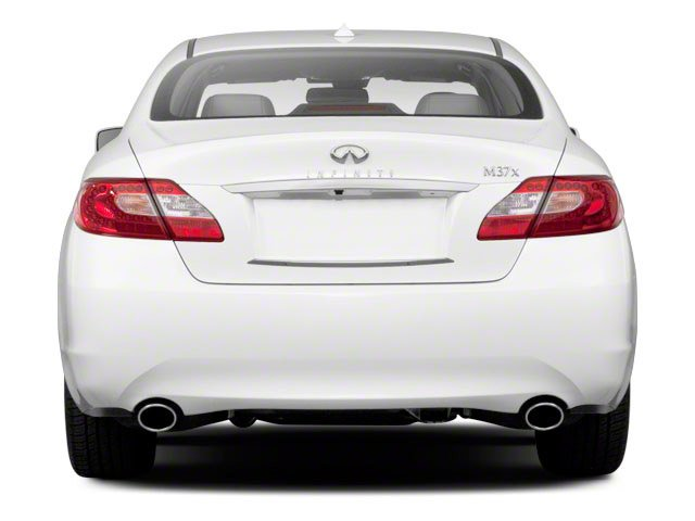 2012 INFINITI M37 Prices and Values Sedan 4D rear view