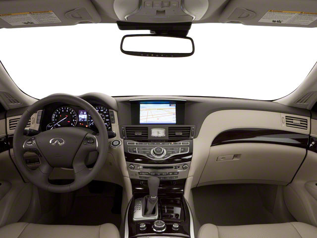 2012 INFINITI M37 Prices and Values Sedan 4D full dashboard