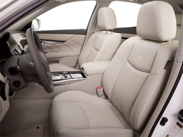 2012 INFINITI M37 Prices and Values Sedan 4D front seat interior