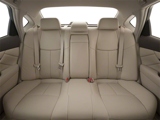 2012 INFINITI M37 Prices and Values Sedan 4D backseat interior