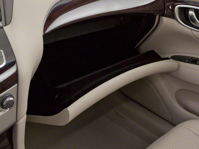 2012 INFINITI M37 Prices and Values Sedan 4D glove box
