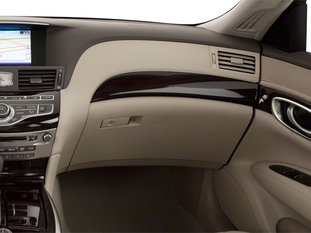2012 INFINITI M37 Prices and Values Sedan 4D passenger's dashboard