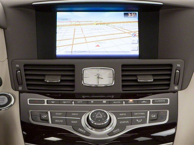 2012 INFINITI M37 Prices and Values Sedan 4D navigation system