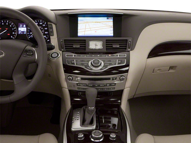 2012 INFINITI M37 Prices and Values Sedan 4D center dashboard