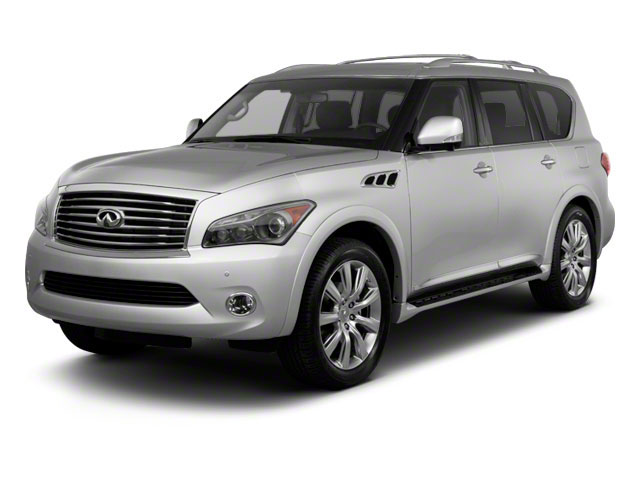 2012 INFINITI QX56 Pictures QX56 Utility 4D 2WD photos side front view