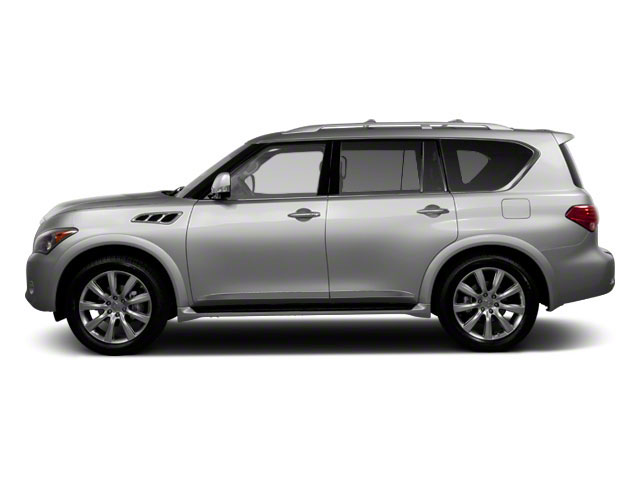 2012 INFINITI QX56 Pictures QX56 Utility 4D 4WD photos side view
