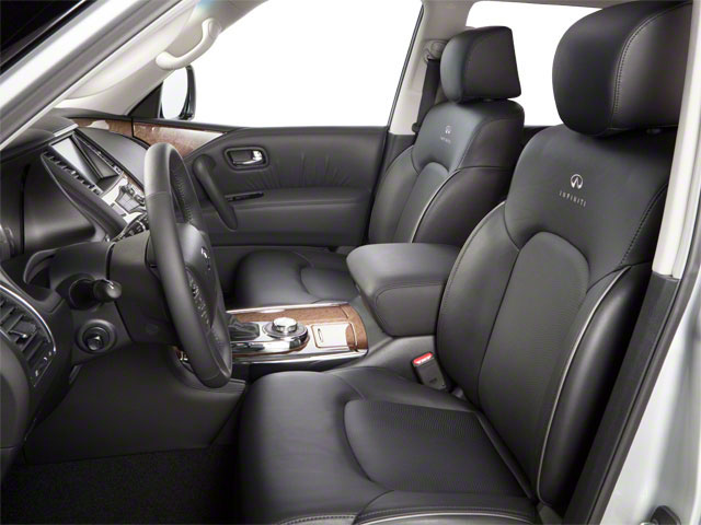 2012 INFINITI QX56 Prices and Values Utility 4D 4WD front seat interior